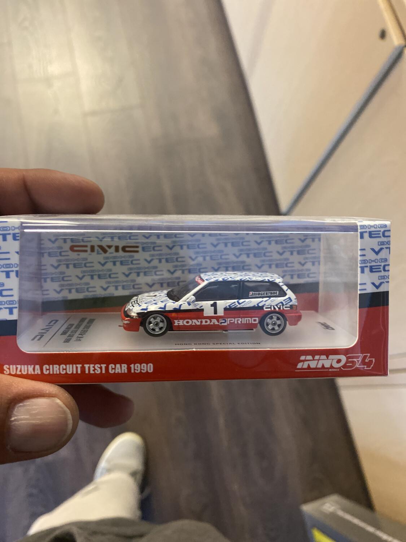 Inno64-Suzuka Circuit Test Car 1990