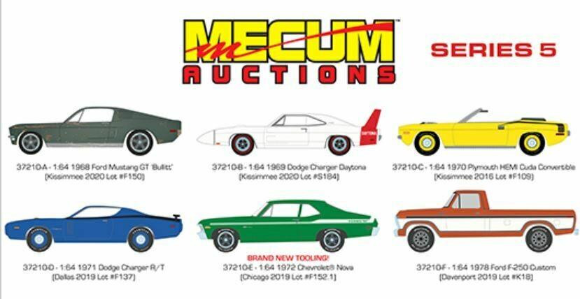 Greenlight Mecum Auctions Series 5 Sealed Inner Case - Pre Order