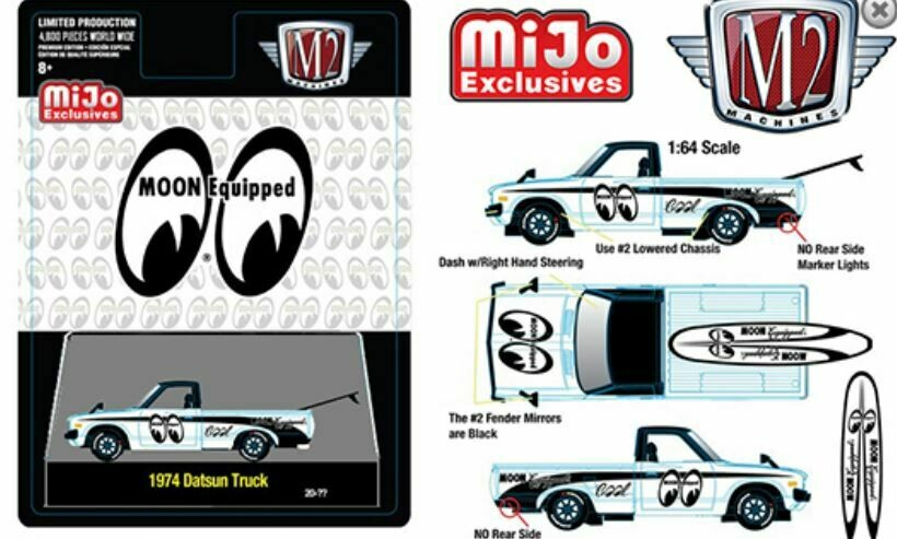 Exclusive Datsun M2 Machines Mooneyes