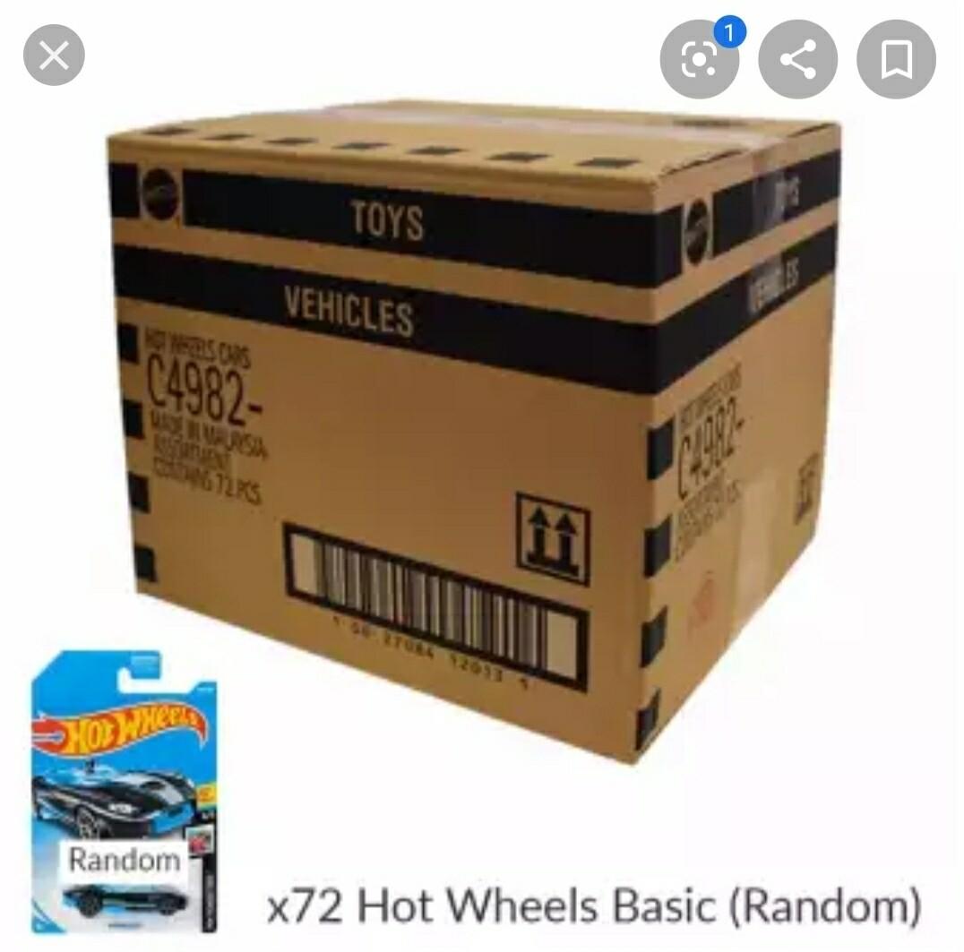 2020 Sealed Hot Wheel Case