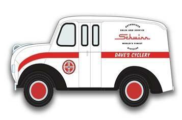 1/24 Divco JL Schwinn Show Truck