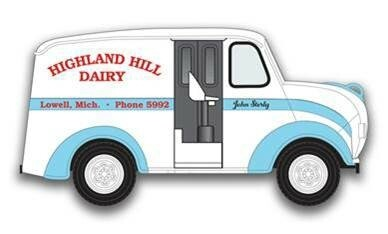 1/24 Divco JL Highland Hill Truck