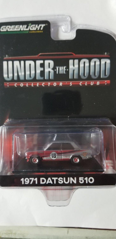 Greenlight - Under the Hood - 1971 Datsun 510