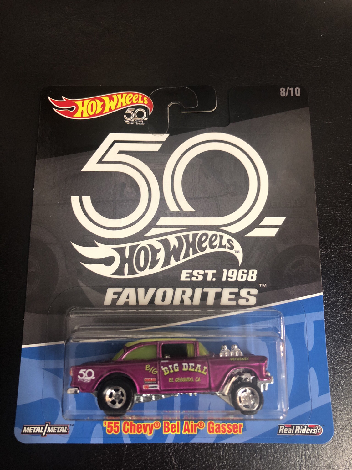 Hot Wheels - 50th Favorites - '55 Chevy Bel Air Gasser