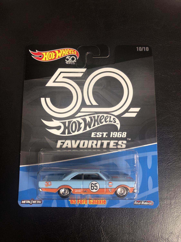 Hot Wheels - 50th Favorites- '65 Ford Galaxie