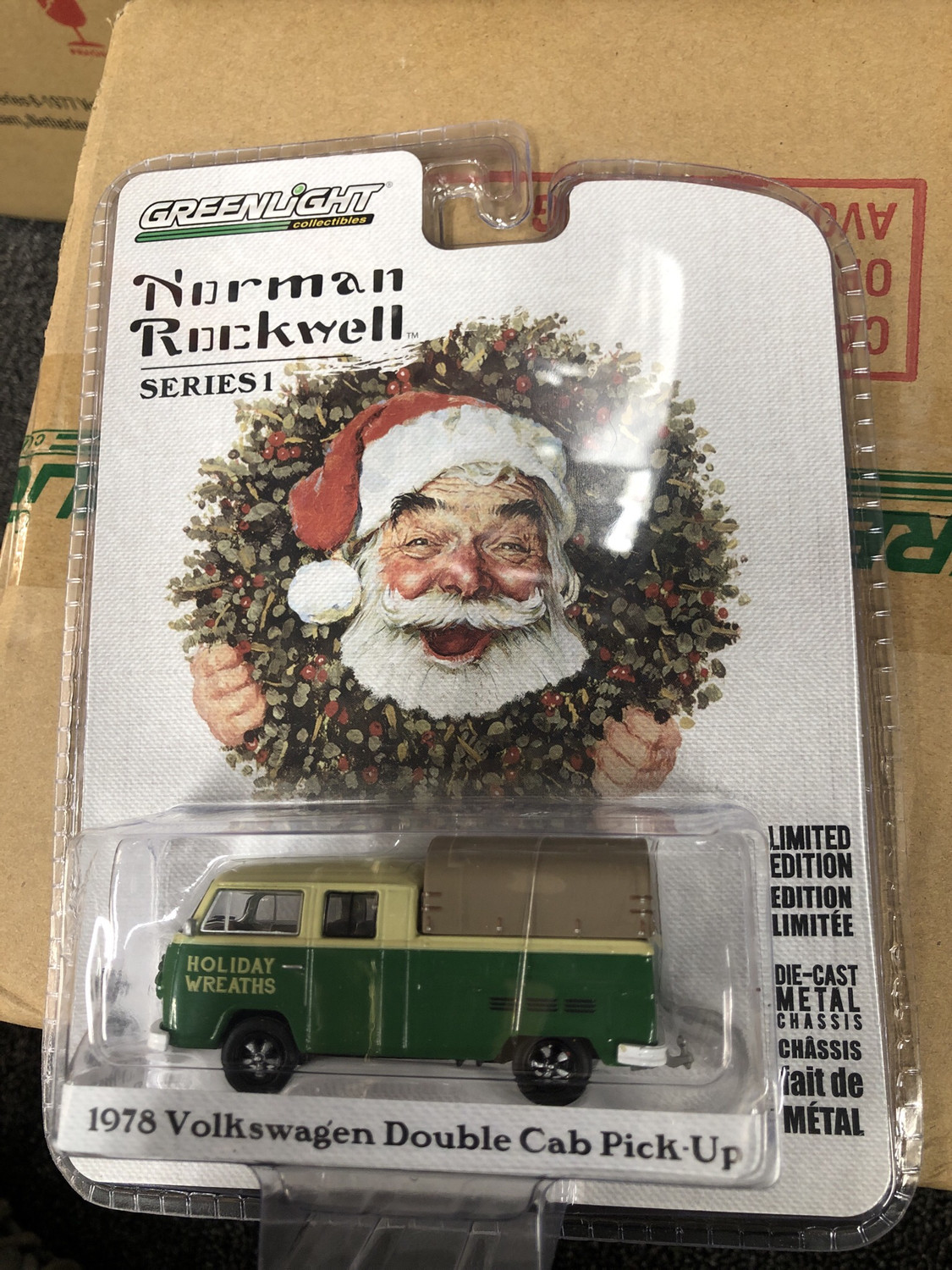 Greenlight-Norman Rockwell-1978 Volkswagen Double Cab Pick-Up