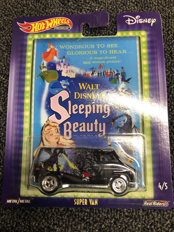 Hot wheels-Disney Sleeping Beauty-Super Van