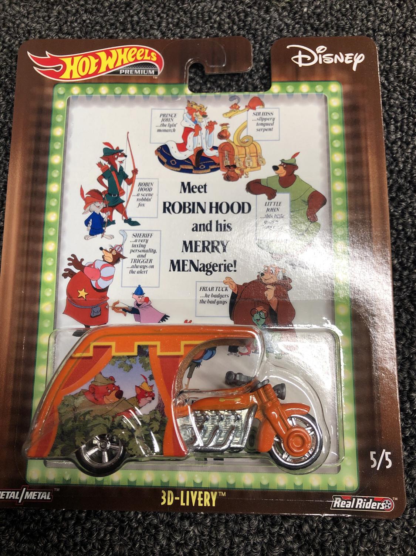 Hot Wheels-Disney Robin Hood-3D-Livery