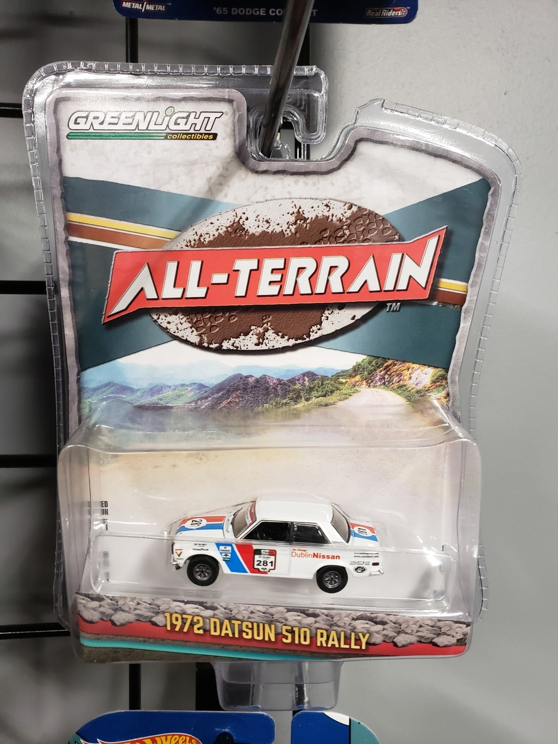 Greenlight All-terrain-1972 Datsun 510 Rally