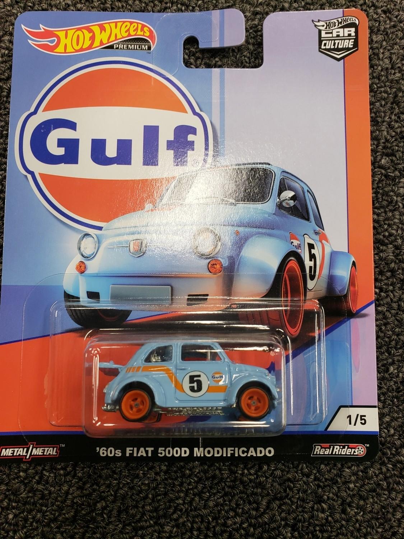 Hot wheels Gulf '60 Fiat 500D Modificado