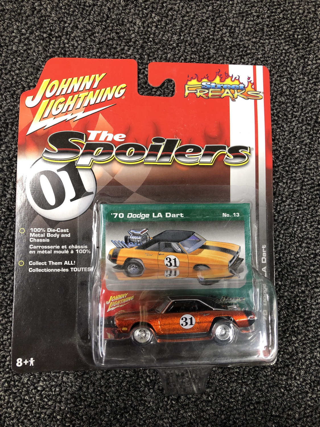 Johnny lightning-The Spoilers 1970 Dodge LA Dart