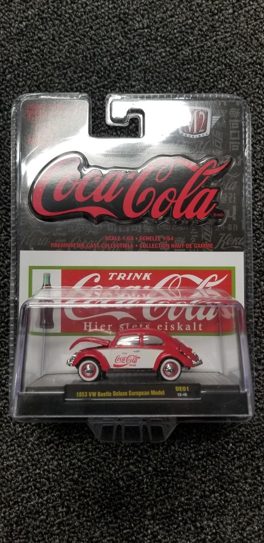M2 - Coke - '53 VW Beetle Deluxe European Model