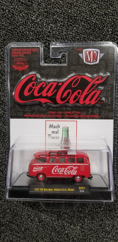 M2 - Coke - '62 VW Microbus Deluxe USA Model