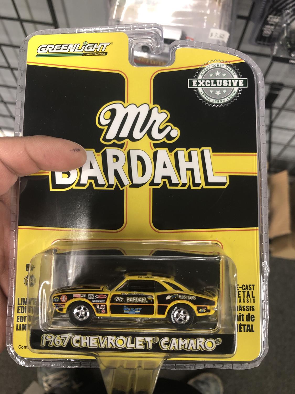 Green light-Mr. Bardahl-1967 Chevy camaro