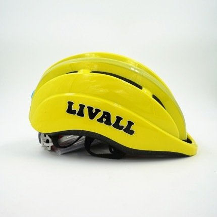 Livall Kids Ks2 yellow changing LED lights with tap function