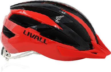 Livall MT1 smart Helmet  Size 54 -58 Cm silver black