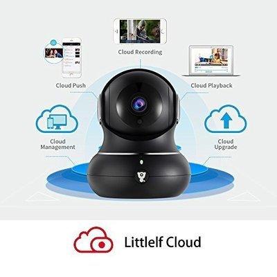 Littlelf  HD security camera 1080  HD 2mb black