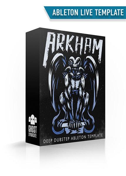 ARKHAM • DEEP DUBSTEP ABLETON LIVE TEMPLATE 00035