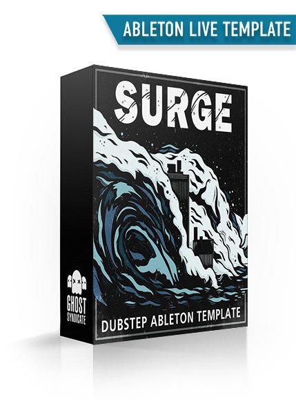 SURGE • DUBSTEP ABLETON LIVE TEMPLATE 00037