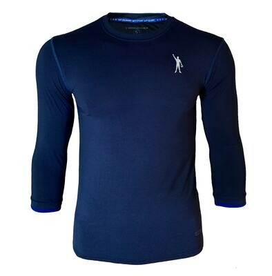 MataThread 3/4 Sleeve Tee - Navy