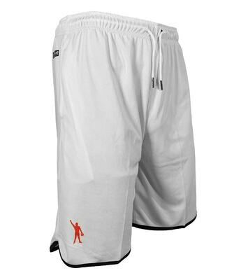 MataThread Hybrid Mesh Shorts - White