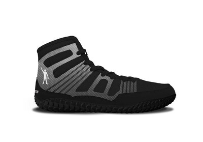 TG Predator Wrestling Shoe - Metallic Grey Edition