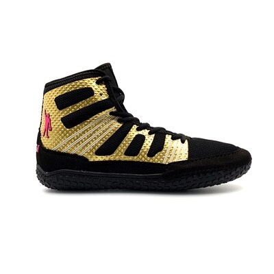 Predator Lite Wrestling Shoe - Pin Cancer Gold Edition