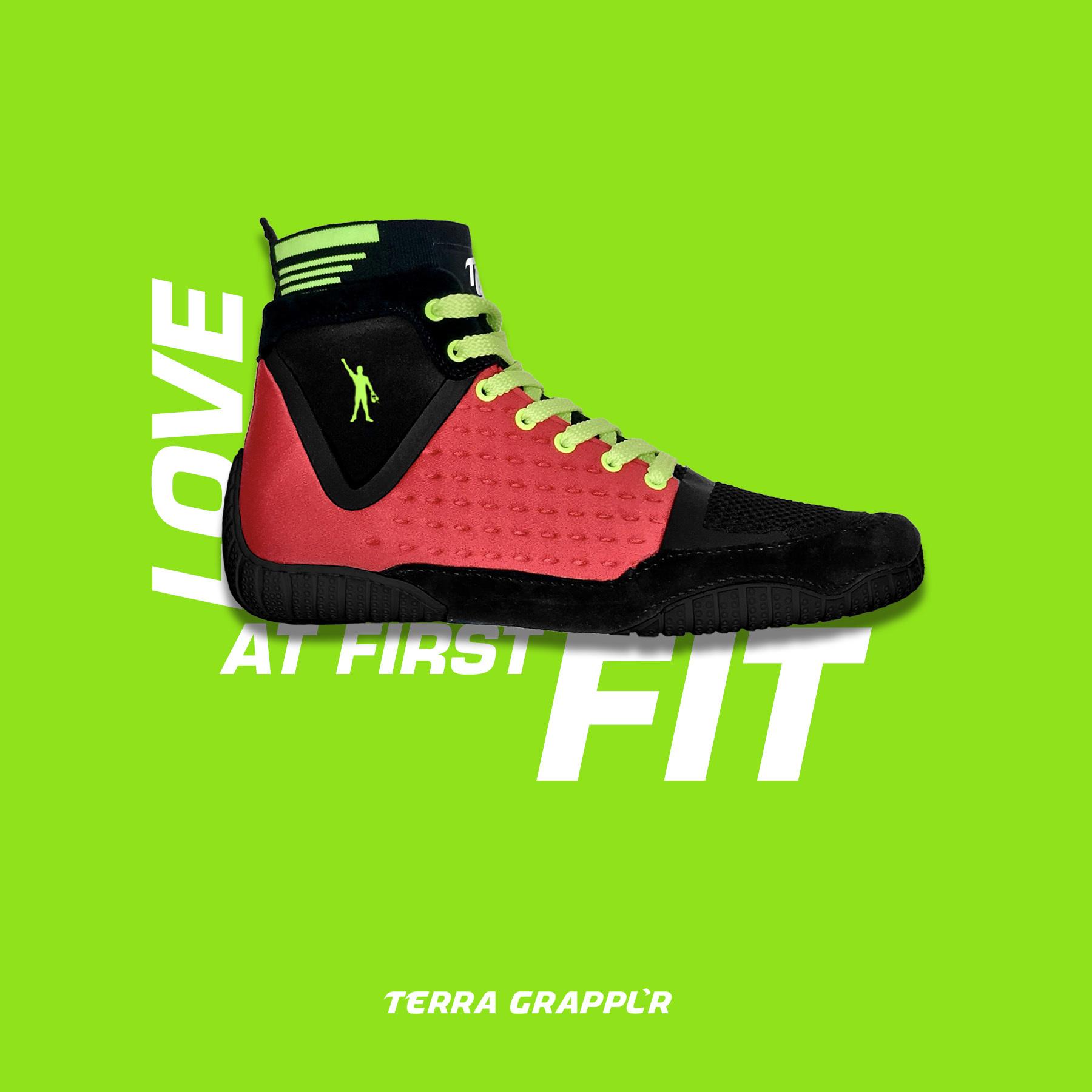 TERRA GRAPPL'R Premier JOK'R Edition Wrestling Shoe