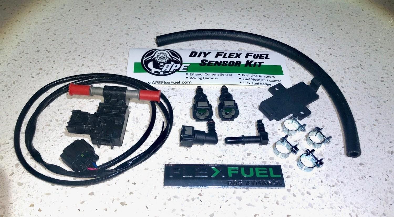 DYI Flex Fuel Sensor Kit Flex Fuel Sensor Wiring on bluetooth sensor, ford mass air flow sensor, electric sensor, hall effect current sensor, traction control sensor, flex code, lm741 with temp sensor, hitch sensor,