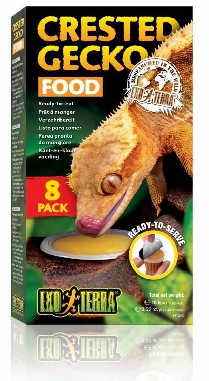 Exo Terra Crested Gecko Food 8 Pack