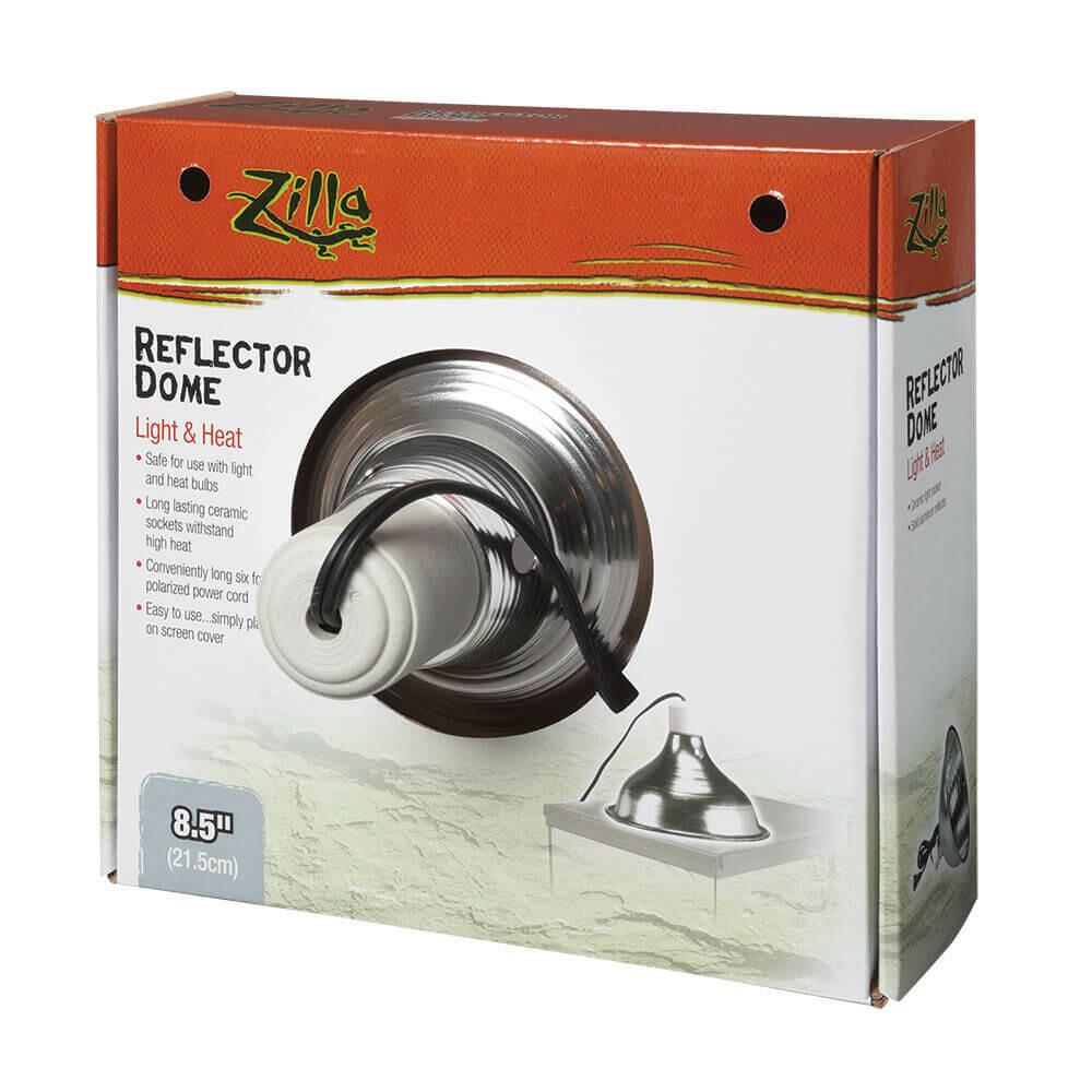 """Zilla Reflector Dome - Silver - 8.5"""" (SALE)"""