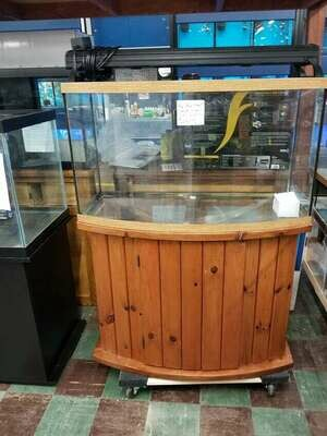 USED 46 Gallon Bow Front