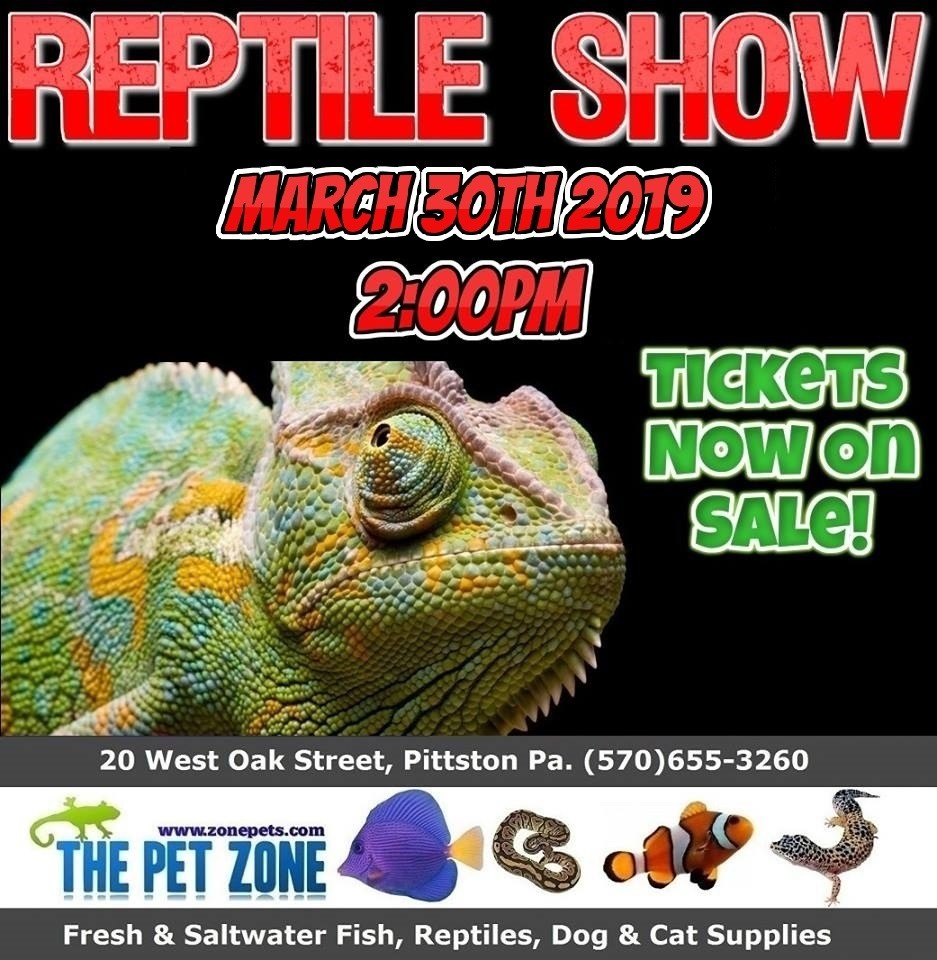 Reptile Show March 30th 2019