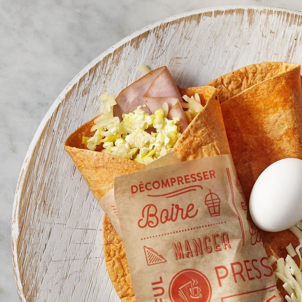 Ham & Egg Wrap