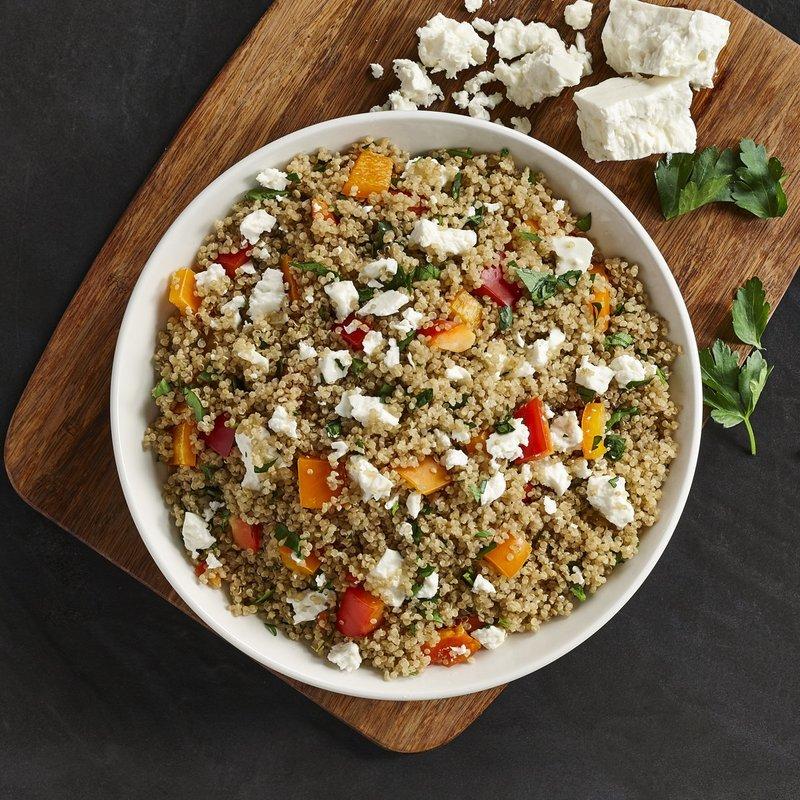 Salade de quinoa Machu Picchu
