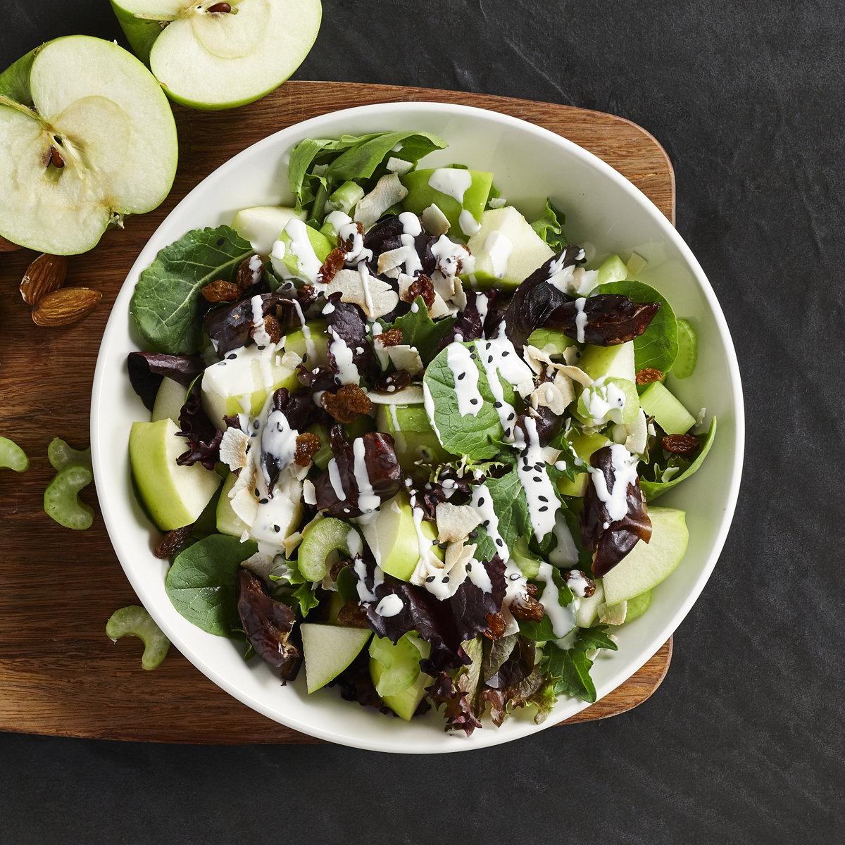 Decadent Apple Date Salad