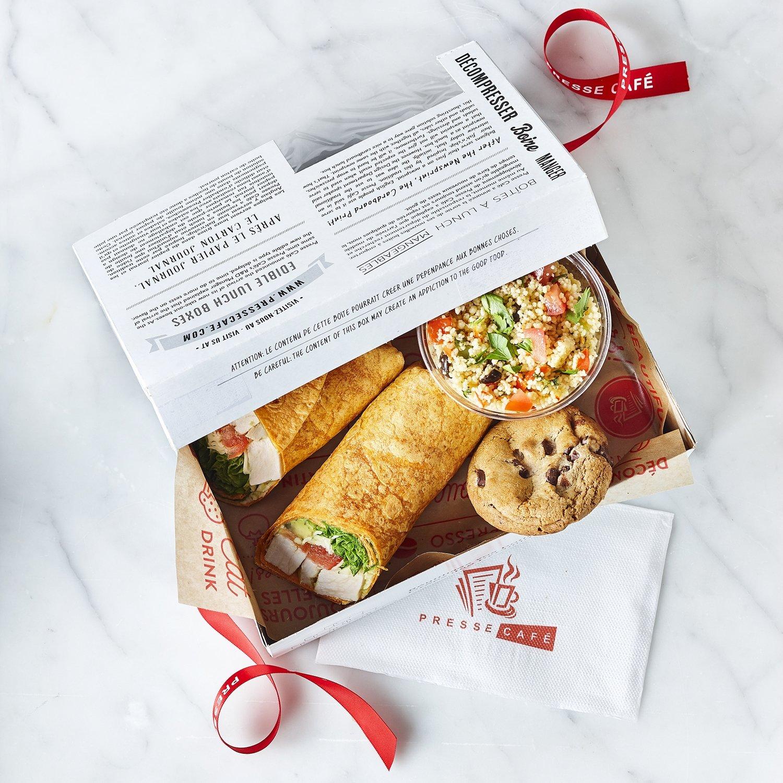 Boîte à lunch - Wrap