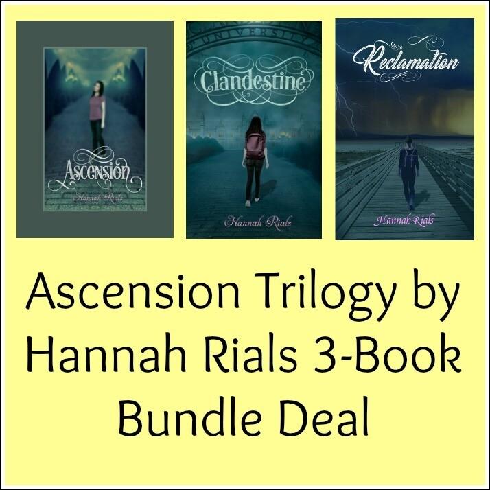 Ascension Trilogy by Hannah Rials 3-Book Bundle Deal