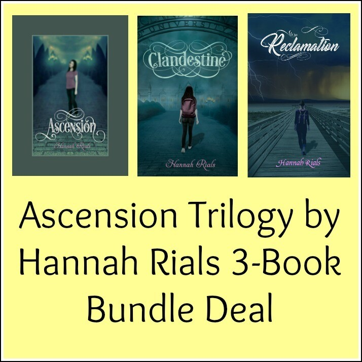 Ascension Trilogy by Hannah Rials 3-Book Bundle Deal