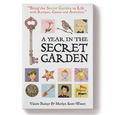 A Year in the Secret Garden by Valarie Budayr and Marilyn Scott-Waters (USA FREE SHIPPING)