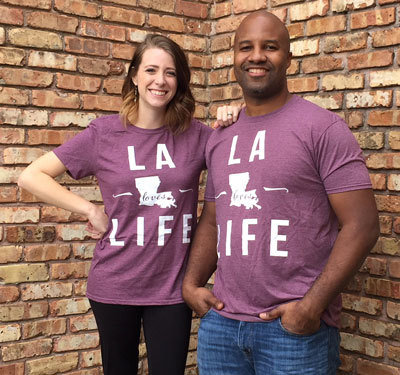 LA Loves Life T-Shirt 00027