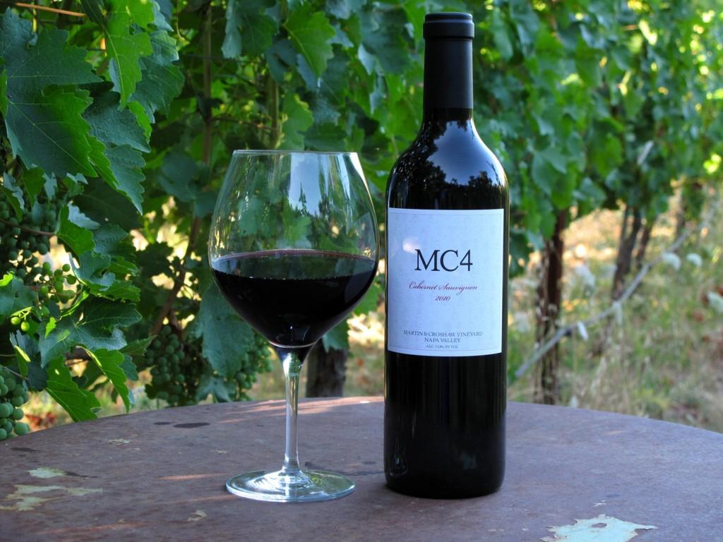 2016 MC4 Cabernet Sauvignon / Bottle 00003