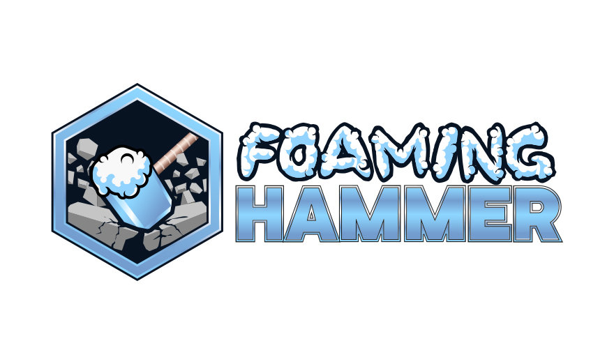 Foaming Hammer HD - 4 gallon case BFFHHD4X1CASE