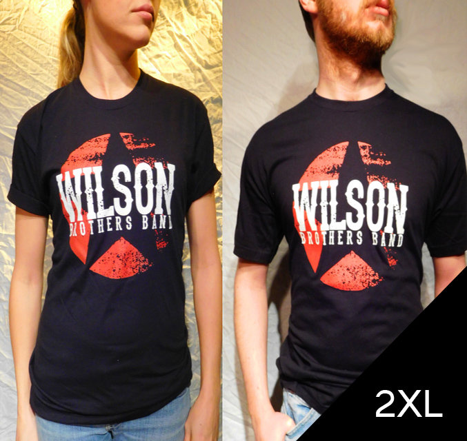 ​Wilson Brothers Band Black Tee (2XL)​