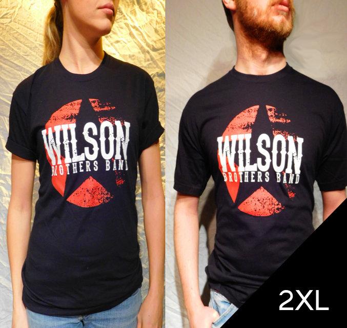 Wilson Brothers Band Black Tee (2XL)