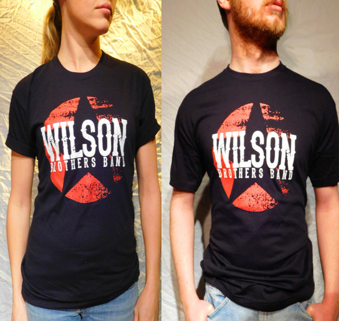 Wilson Brothers Band Black Tee (S-XL)