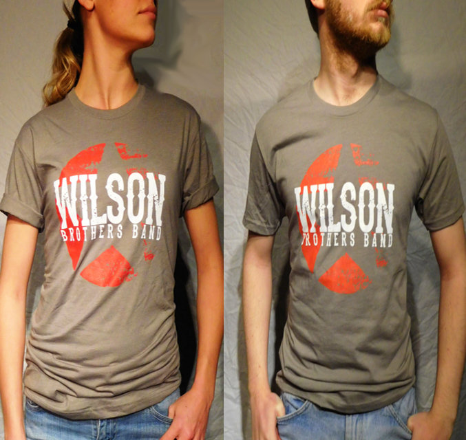 Wilson Brothers Band Gray Tee (S-XL)