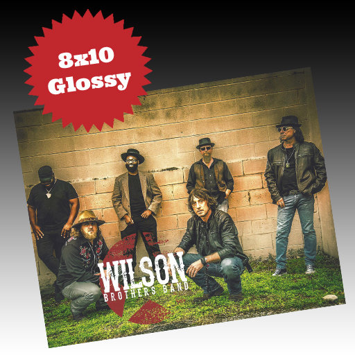 WBB 8x10 Glossy Wilson Brothers Band