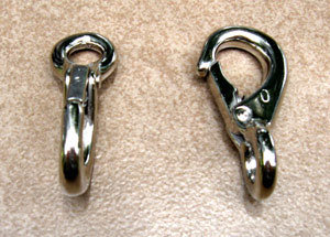 Lobster Clasp Hook Set (2) 00015