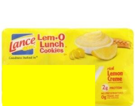 Lance Lem-O Lunch
